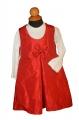 20249 Φόρεμα Ταφτά με μπλούζα
