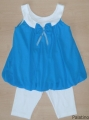 24018T Σετ φόρεμα με κολάν