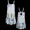 24133 Φόρεμα Βαμβακερό Γαλάζιο