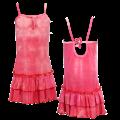 24133 Φόρεμα Βαμβακερό Ροζ