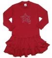 24189 Φόρεμα bebe με βολάν