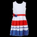 24300 - Φόρεμα 3χρωμο