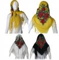 24377 Παραδοσιακή μαντήλα με κρόσια