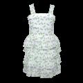 30018W  Φόρεμα βολάν