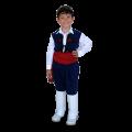 99964 Παραδοσιακή στολή Κρητικός Μπλε 2-12 Ετών